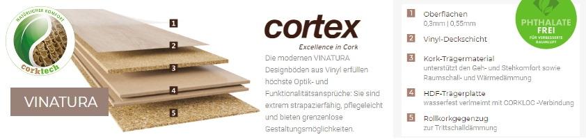 cortex Vinatura Klick-CVinyl-Designboden sofort Preis günstig hier im Online Shop kaufen