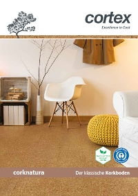 cortex Corknatura Kork-Parkett Bodenbelag Katalog download